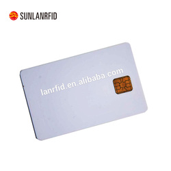 Free samples Blank Smart IC Card Contact and Contactless