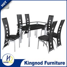 Korean style dining table dining room table 6 chairs