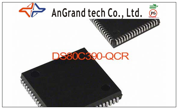 DS80C390-QCR IC MPU CAN DUAL HS 68-PLCC DS80C390-QCR 390 DS80C390 C390