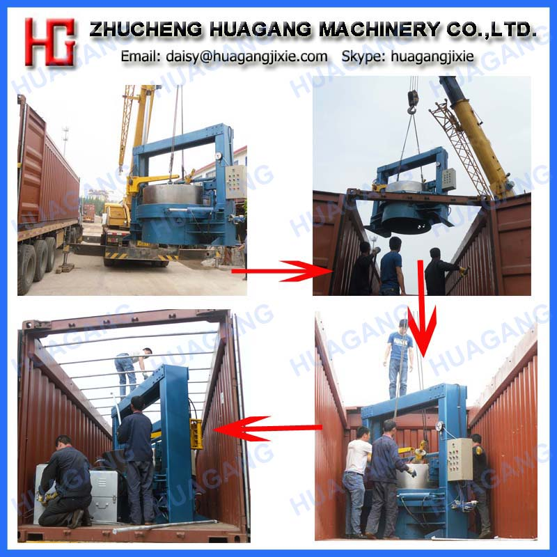 Rubber segmented tire retreading machine line