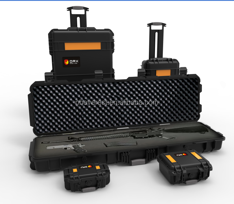 IP67 Waterproof Hard Plastic Equipment Case with foam