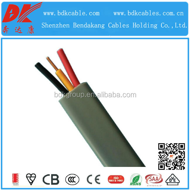 flat cable 18awg flat cable for elevator twin flat cable