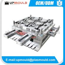professional injection plastic mold 3d drawing plastic pallet mould
