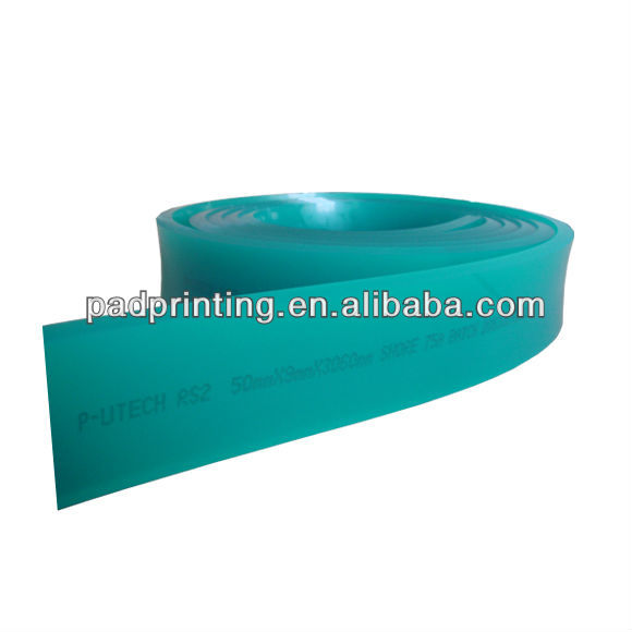 Retail or Wholesale Green silk screen Polyurethane squeegee