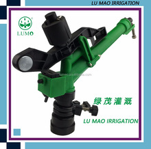 1-1/2 Inch Plastic POM Adjustable Rotating Automatic Head Spray Agricultural Irrigation Sprinkler Gun