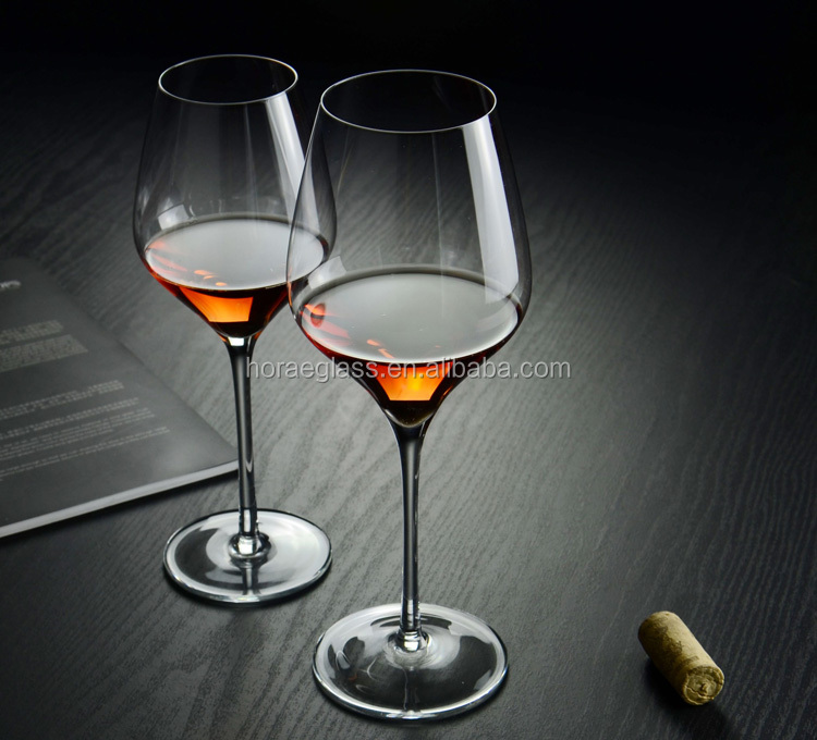 600ml/21OZ high quality bar ware stemware for Red Wine Glass