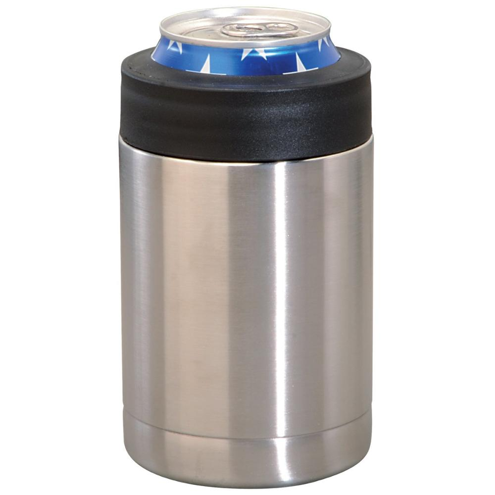 Double Wall Vacuum Insulated 12 oz Stainless Steel Beer Can & Bottle Holder Can Cooler