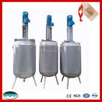 Foshan JCT chemical double layer alkyd resin lined mixing reactors