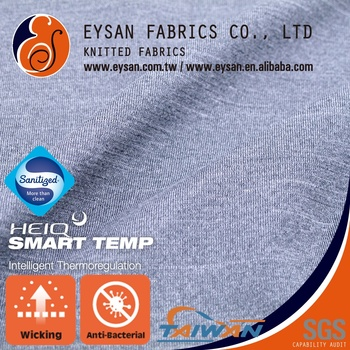 EYSAN Cooling management anti-bacterial polyester spandex Fabric
