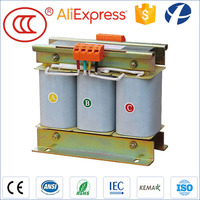 Factory Machine Electric Equipment Copper Winding 690V 400V 25KVA 3 Phase Step Down Transformer