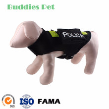 Police Character Costume Ventilated Mesh Dog Coats With Pocket