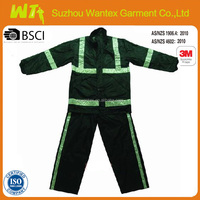 cheap factory camouflage reflective waterproof work winter coveralls