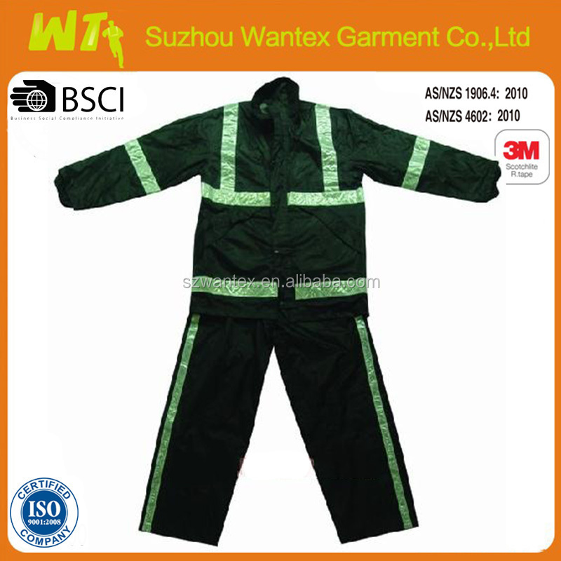factory camouflage reflective waterproof work winter coveralls
