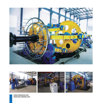Cradle Type Cabling / Laying-up Machine for Electrical Cable Stranding Machinery