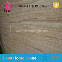 Beige Cream Travertine Marble Slabs For goverment place