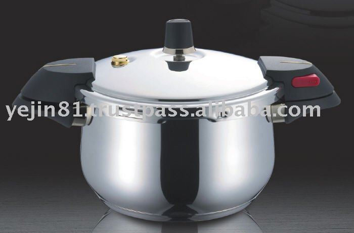 18-10 Stainless Steel Pressure Cooker