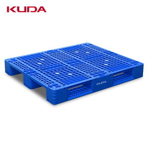 Kuda plastic pallet Grid plastic palle theavy weight Forklift pallets for warehouse shelves use palet for flour bags