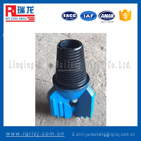 3 wing/4 wing water well pdc drilling drag bit