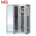 Cheap 5-panel aluminum folding interior door price