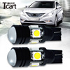 High Power LED Auto Light T10 10W 360degrees No Dead Corner Concentrated+astigmatism T10 Led 4SMD