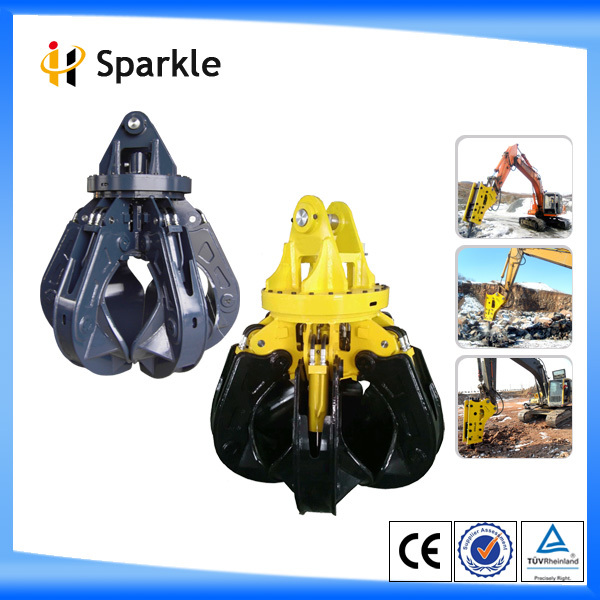 hydraulic excavator rotating grapple for all kinds of excavator 17-23 ton
