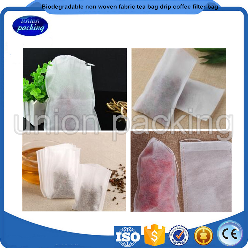 Biodegradable non woven fabric tea bag drip coffee filter bag