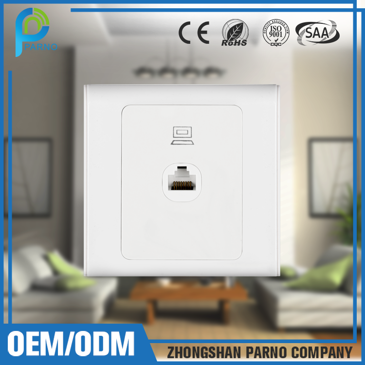 Custom Product LAN socket rj45 switch socket outlet P131