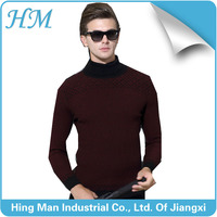 2016 fancy high-elastic printing leisure man knitted sweater.