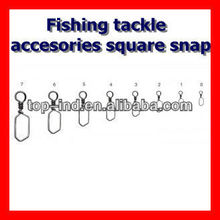 Fishing tackle accesories square snap
