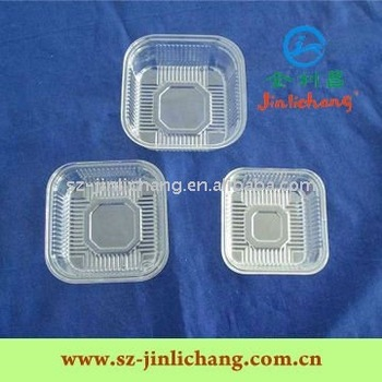Thermoformed Blister Tray for Cake Packaging