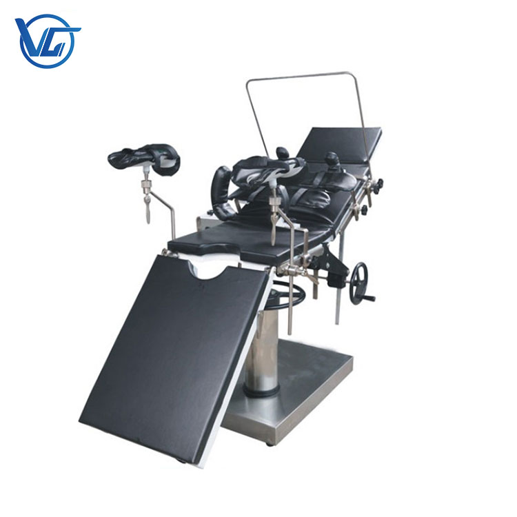 hospital stainless steel surgical table c arm compatible operating