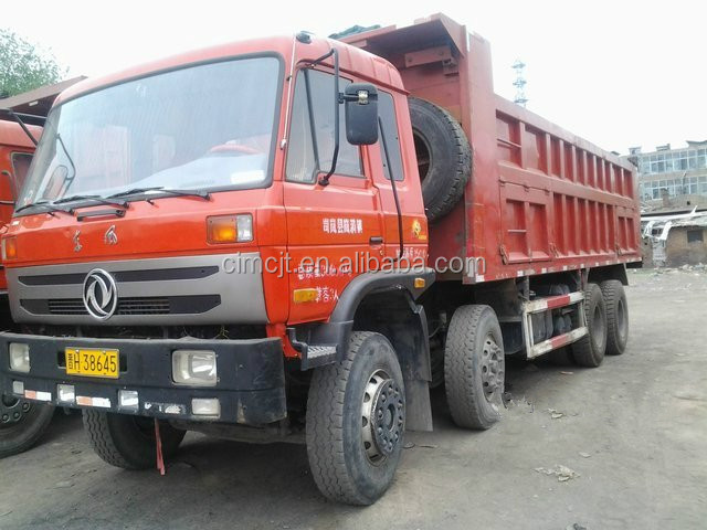 Used/Secondhand DFAC DONG FENG Dump/Tipper Truck 6x4,8X4