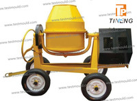 350L Concrete Mixer with Four Wheels cement mixer