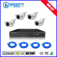 2015 new products CCTV HD 720P Webcam 4CH H.264 NVR Kit(BS-N04T3)