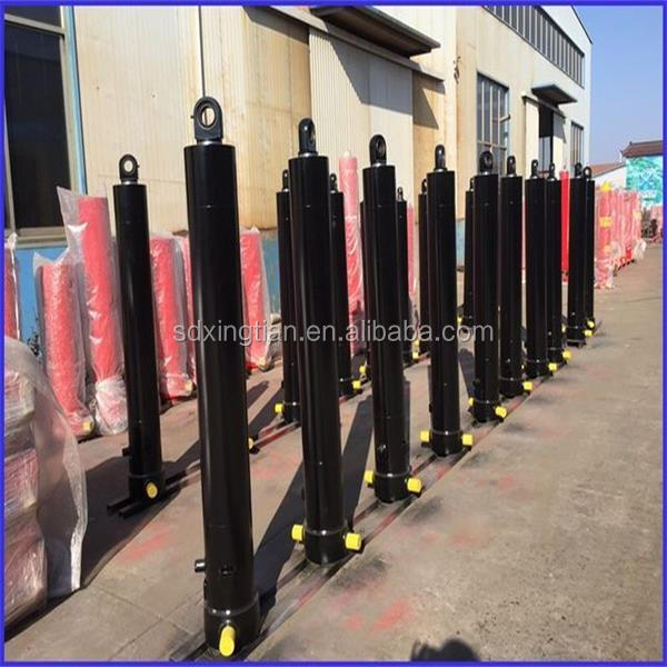 multi-stage underbody telescopic hydraulic ram for tipping trailer/hydraulic cylinder manufacturer