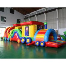 Outdoor inflatable obstacle intellectual kids Inflatable Obstacle course games for sale