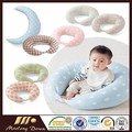 2016 Hot sale comfortable colorful 100% cotton baby nursing pillow
