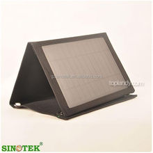 SINOTEK polyester portable folded solar panel bag pack for outdoor survival camping