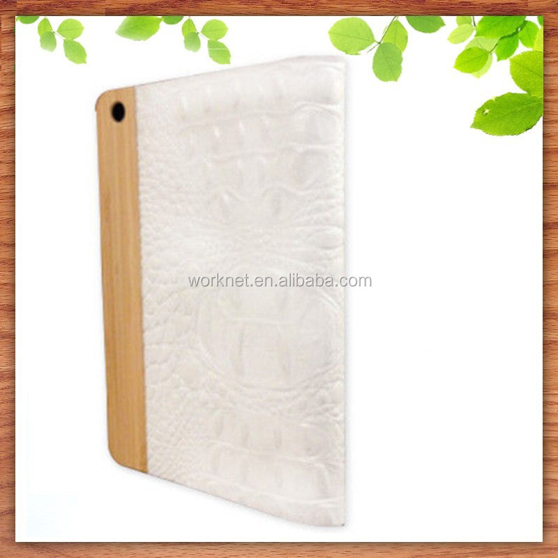 ebay best selling wood case for pad mini 2/3 leather case
