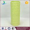 2015 high quality good selling green glaze vase