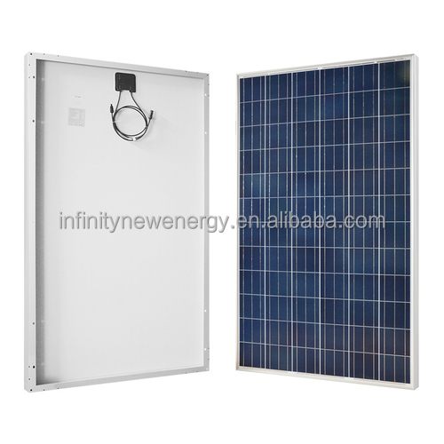Polycrystalline Silicon transparent solar panel price list and 250w Poly home solar panel system