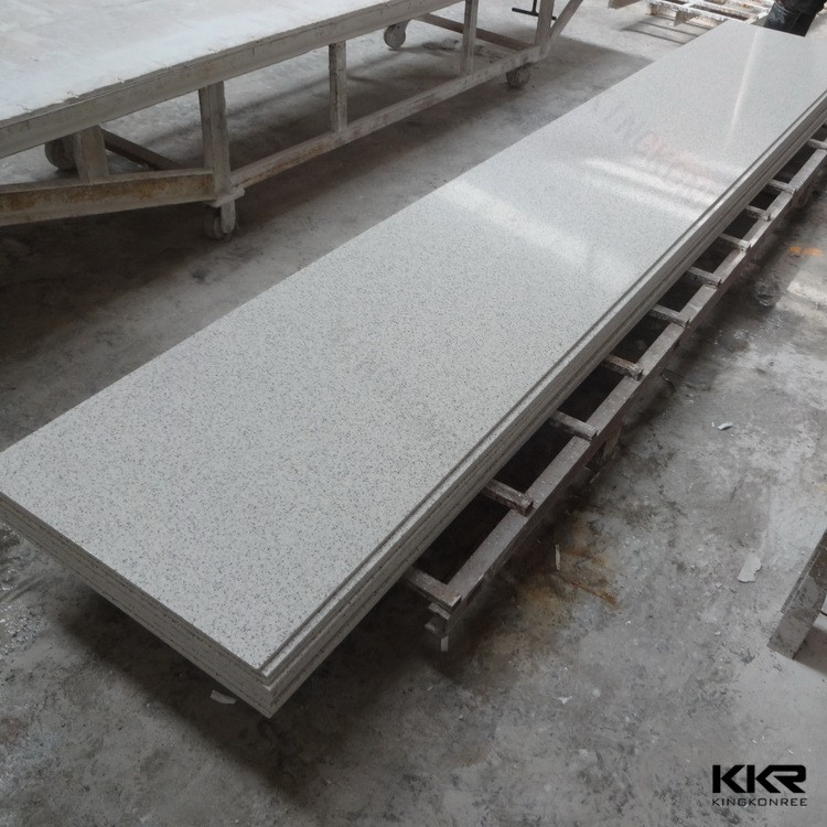 Cut to size composite solid surface window sill for for Window material