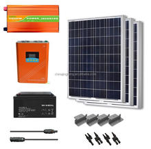Complete 5kw off-grid inverter solar power system home