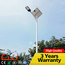 New technology 40W lamp LED solar street light with pole design