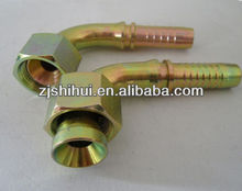 WELDED 90 METRIC FEMALE 60 CONE SEAT CHEAP FLEXIBLE HYDRAULIC SHIHUI PIPE TUBE NIPPLE HOSE FITTINGS