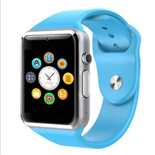 A1 Smart Watch with sim card and sd card micro slot for iPhone iOS and android brand phones Smartwatch