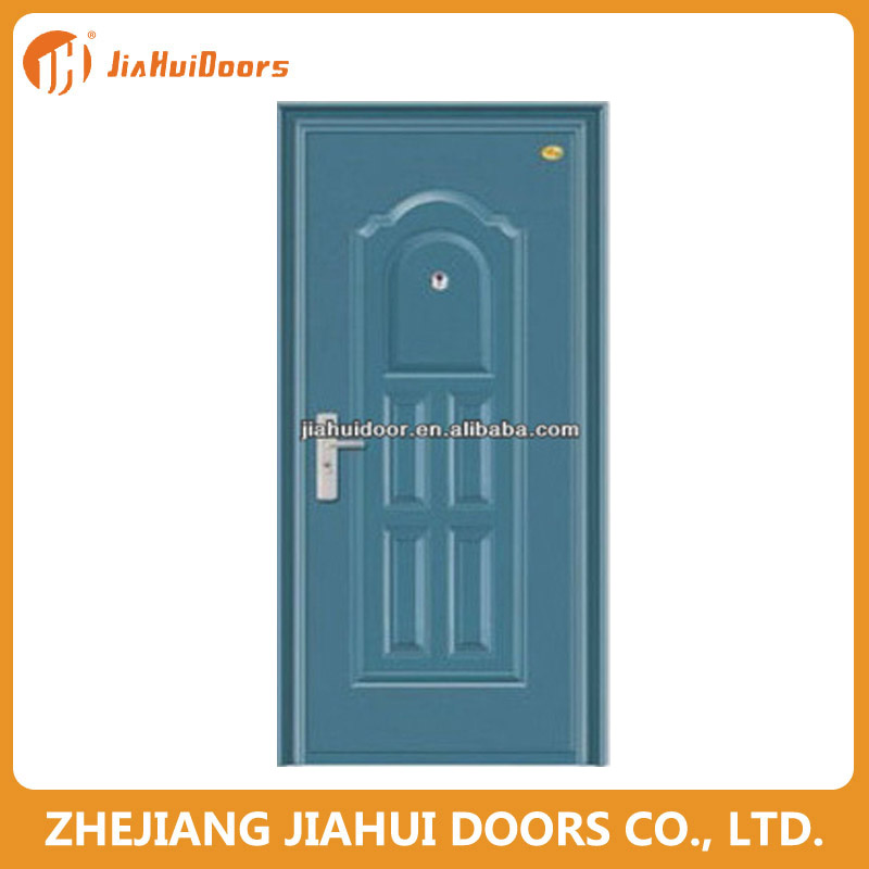 lower price wrought laser cut iron vintage entry door decoration
