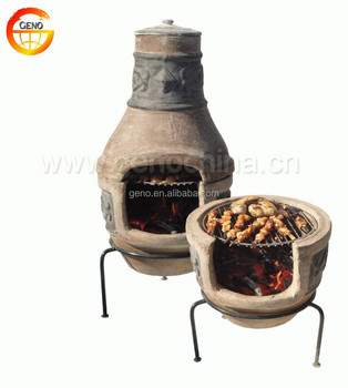 firewood grill heating stove outdoor BBQ grill