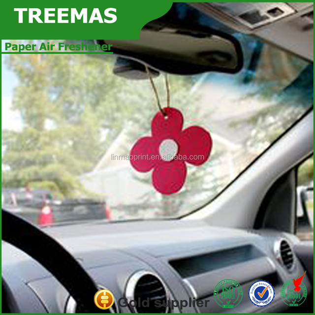 New products promotion paper air freshener of shower products china supplier