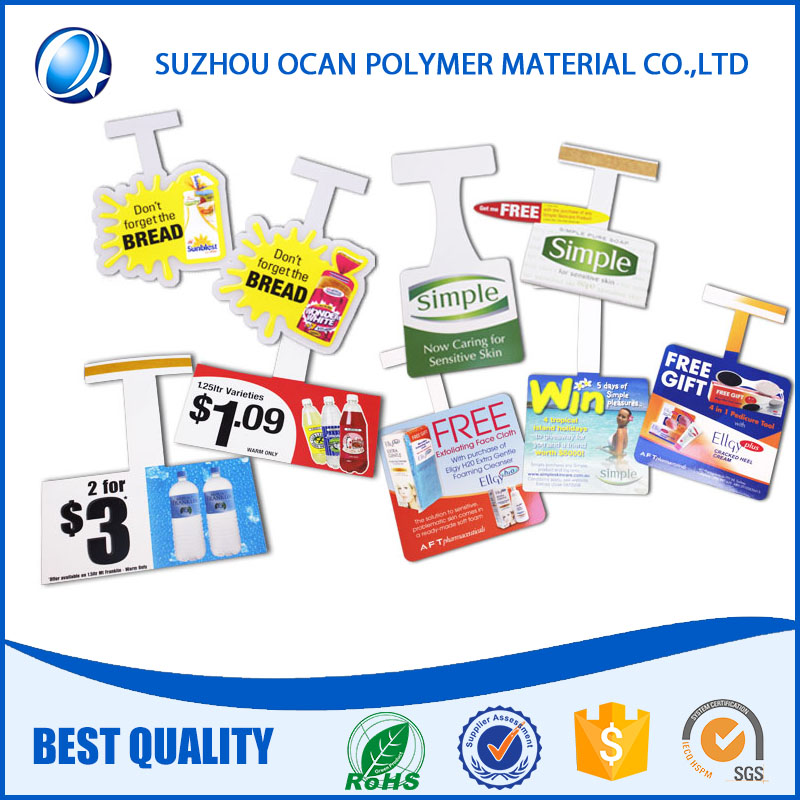 Transparent 915*1220mm Rigid PET Sheet with 2PE Masking for Printing